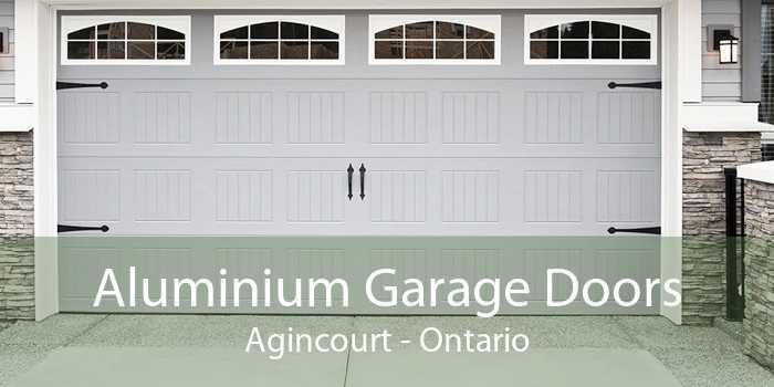 Aluminium Garage Doors Agincourt - Ontario