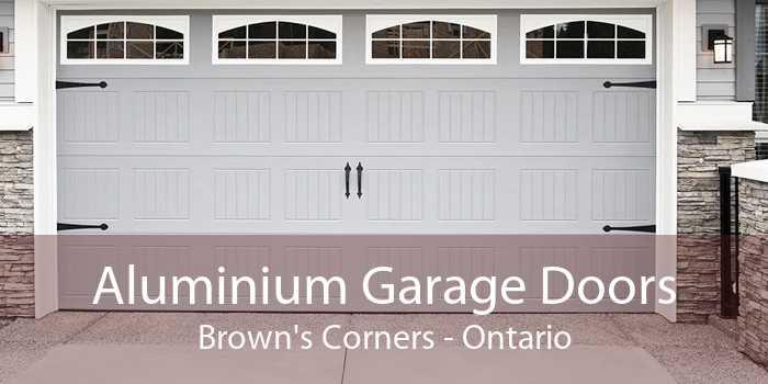 Aluminium Garage Doors Brown's Corners - Ontario