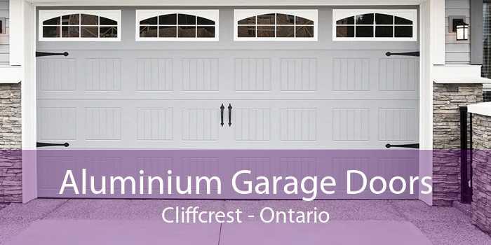Aluminium Garage Doors Cliffcrest - Ontario