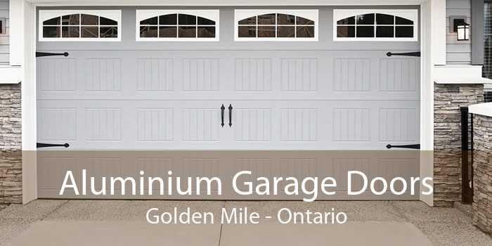Aluminium Garage Doors Golden Mile - Ontario