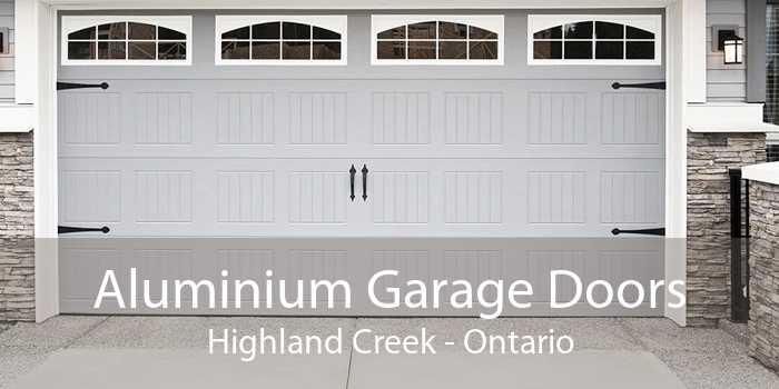 Aluminium Garage Doors Highland Creek - Ontario
