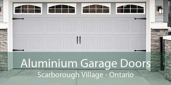 Aluminium Garage Doors Scarborough Village - Ontario