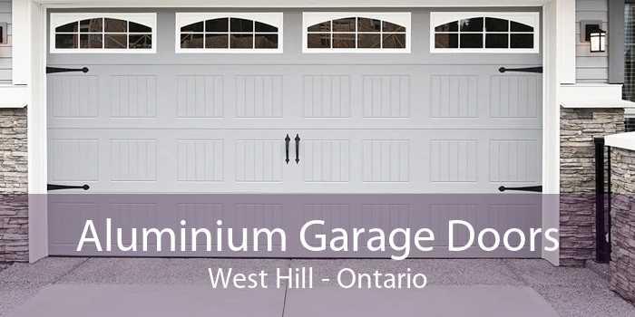 Aluminium Garage Doors West Hill - Ontario