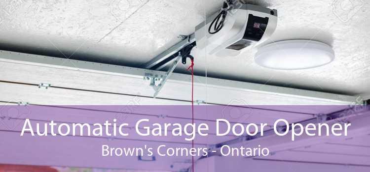 Automatic Garage Door Opener Brown's Corners - Ontario