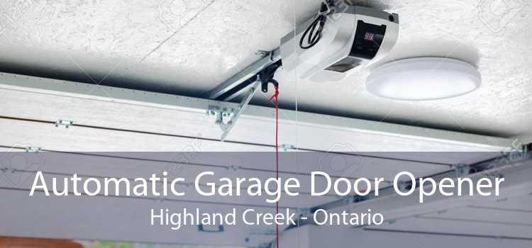 Automatic Garage Door Opener Highland Creek - Ontario