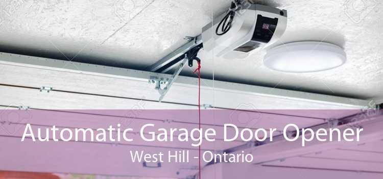 Automatic Garage Door Opener West Hill - Ontario