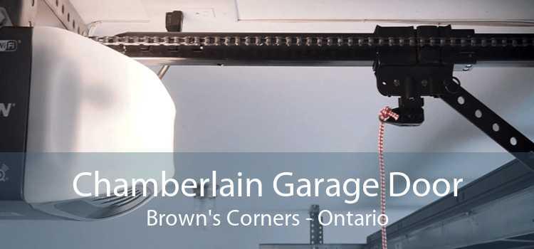 Chamberlain Garage Door Brown's Corners - Ontario