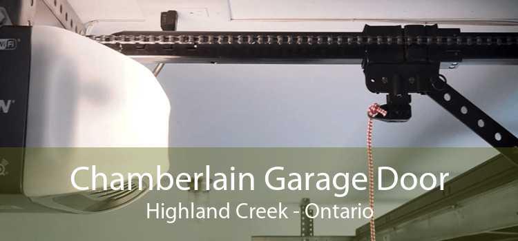 Chamberlain Garage Door Highland Creek - Ontario