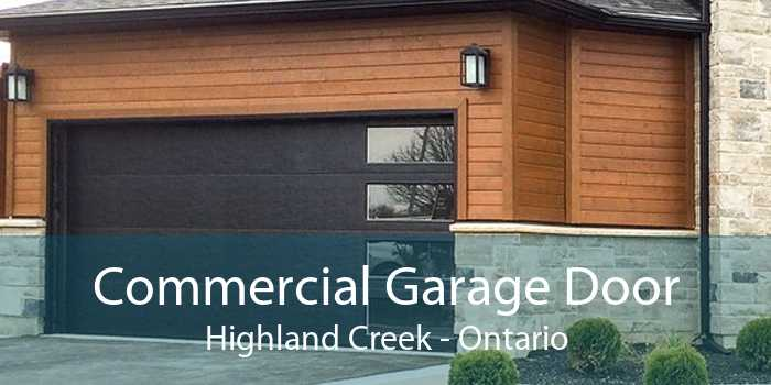 Commercial Garage Door Highland Creek - Ontario