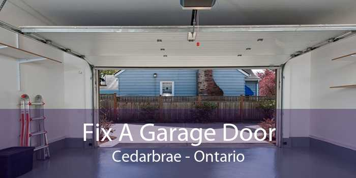 Fix A Garage Door Cedarbrae - Ontario