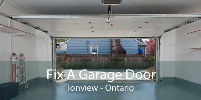 Fix A Garage Door Ionview - Ontario