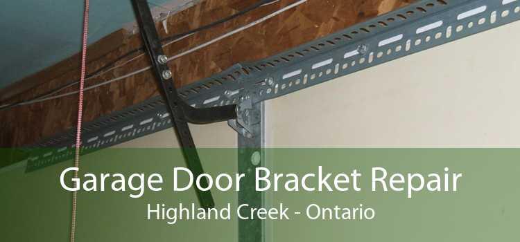 Garage Door Bracket Repair Highland Creek - Ontario