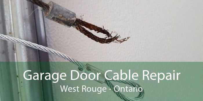 Garage Door Cable Repair West Rouge - Ontario