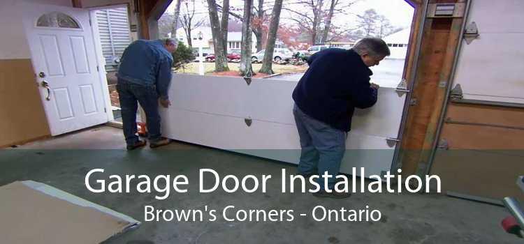 Garage Door Installation Brown's Corners - Ontario