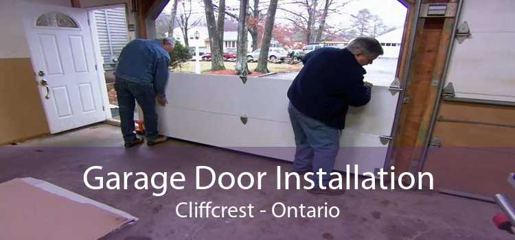 Garage Door Installation Cliffcrest - Ontario