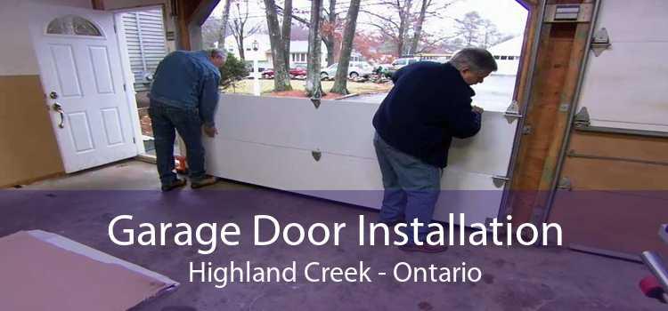 Garage Door Installation Highland Creek - Ontario