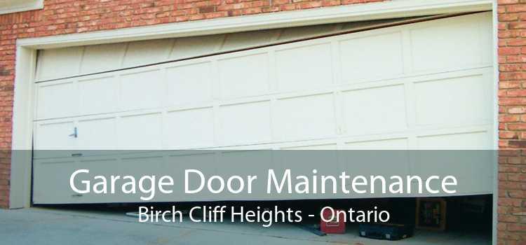 Garage Door Maintenance Birch Cliff Heights - Ontario