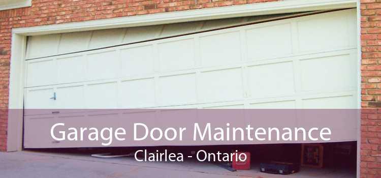 Garage Door Maintenance Clairlea - Ontario