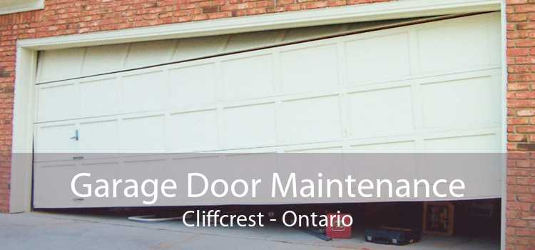 Garage Door Maintenance Cliffcrest - Ontario
