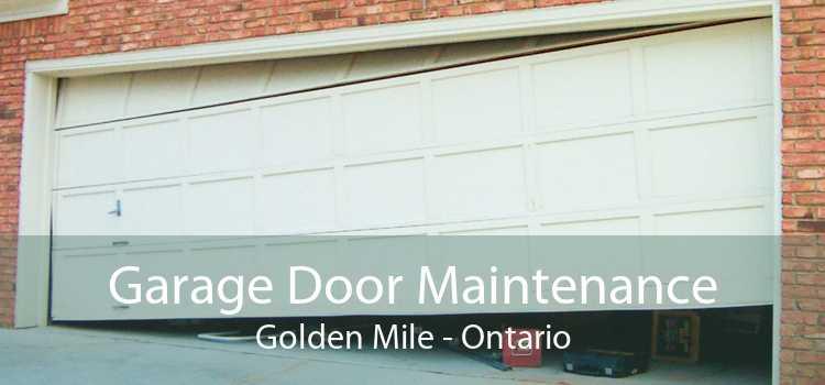 Garage Door Maintenance Golden Mile - Ontario