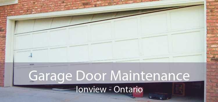 Garage Door Maintenance Ionview - Ontario