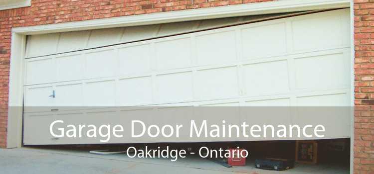Garage Door Maintenance Oakridge - Ontario