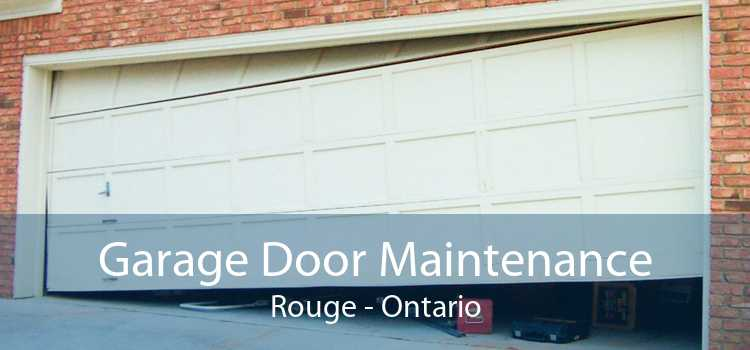 Garage Door Maintenance Rouge - Ontario