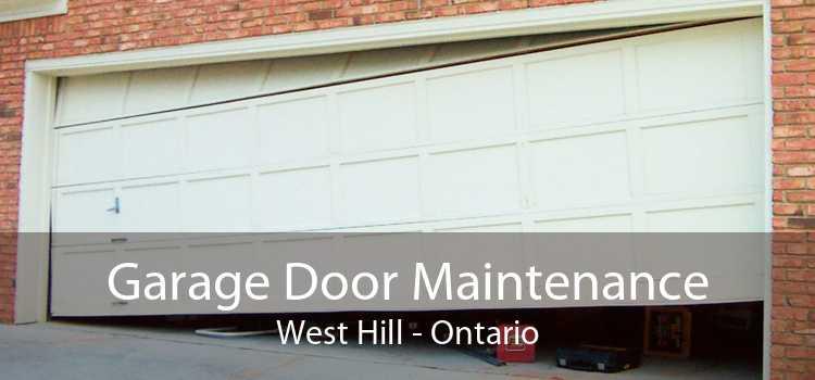 Garage Door Maintenance West Hill - Ontario