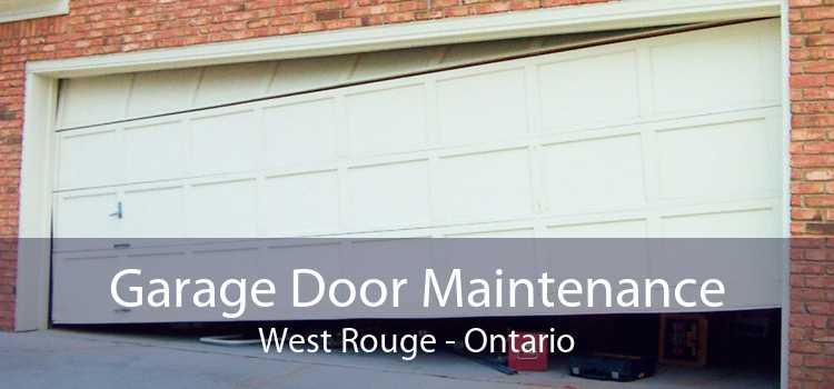 Garage Door Maintenance West Rouge - Ontario