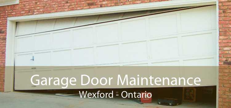 Garage Door Maintenance Wexford - Ontario