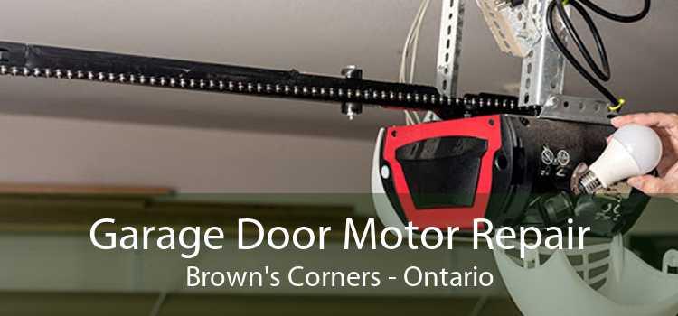 Garage Door Motor Repair Brown's Corners - Ontario