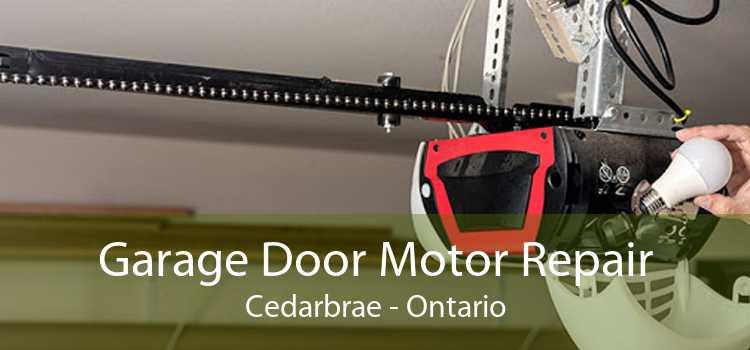Garage Door Motor Repair Cedarbrae - Ontario
