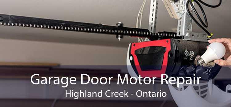 Garage Door Motor Repair Highland Creek - Ontario
