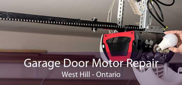 Garage Door Motor Repair West Hill - Ontario