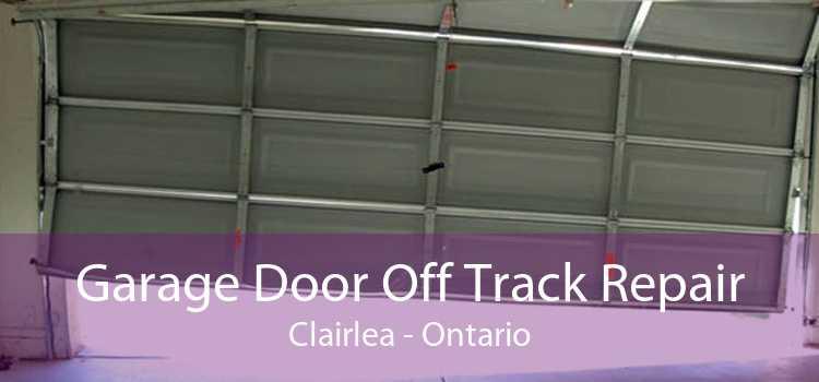 Garage Door Off Track Repair Clairlea - Ontario