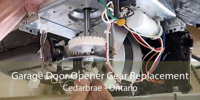 Garage Door Opener Gear Replacement Cedarbrae - Ontario