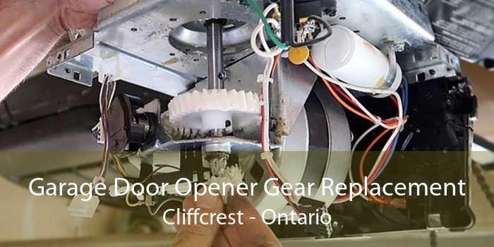 Garage Door Opener Gear Replacement Cliffcrest - Ontario
