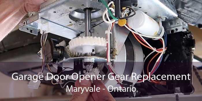 Garage Door Opener Gear Replacement Maryvale - Ontario