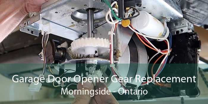 Garage Door Opener Gear Replacement Morningside - Ontario