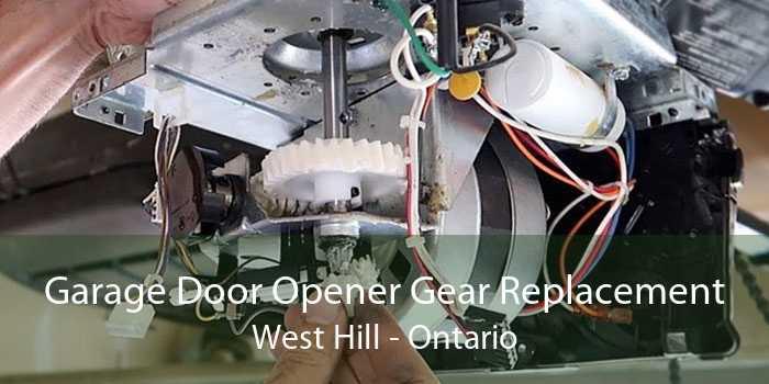 Garage Door Opener Gear Replacement West Hill - Ontario
