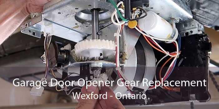 Garage Door Opener Gear Replacement Wexford - Ontario