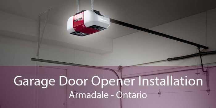 Garage Door Opener Installation Armadale - Ontario