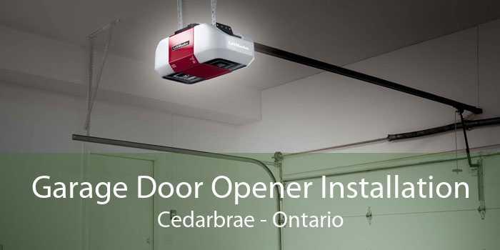 Garage Door Opener Installation Cedarbrae - Ontario