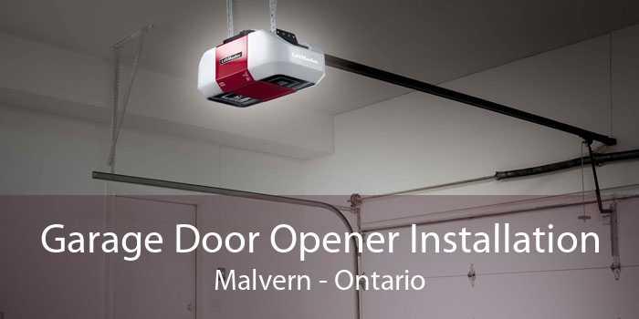 Garage Door Opener Installation Malvern - Ontario