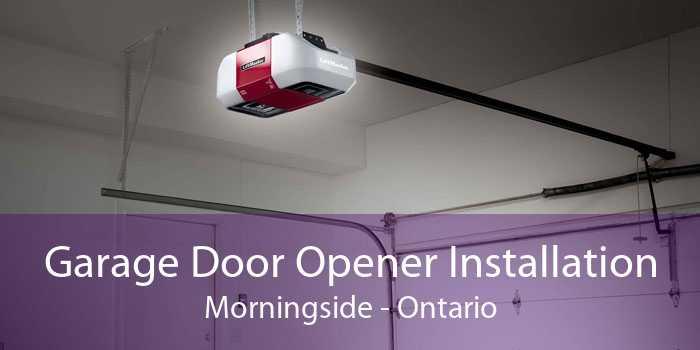 Garage Door Opener Installation Morningside - Ontario