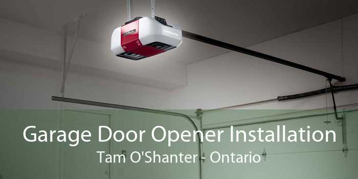 Garage Door Opener Installation Tam O'Shanter - Ontario