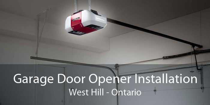 Garage Door Opener Installation West Hill - Ontario