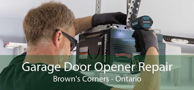 Garage Door Opener Repair Brown's Corners - Ontario