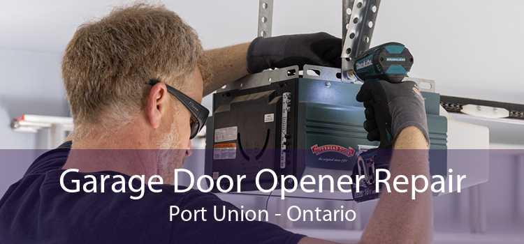 Garage Door Opener Repair Port Union - Ontario