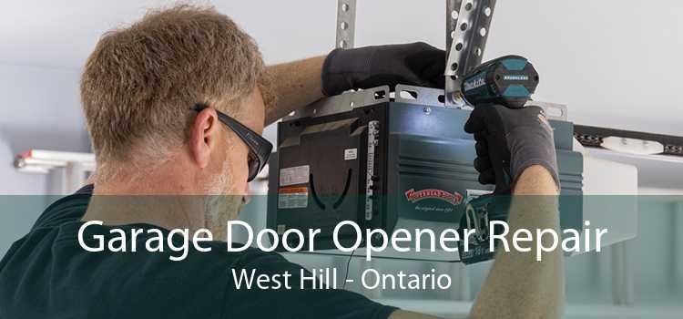 Garage Door Opener Repair West Hill - Ontario